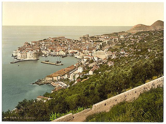 [Ragusa, from the East, Dalmatia, Austro-Hungary]