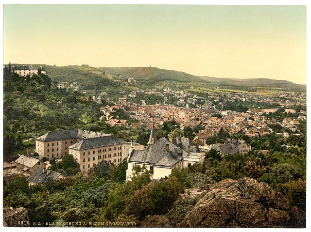 [Blankenburg, from Grossvater, Thuringia, Germany]