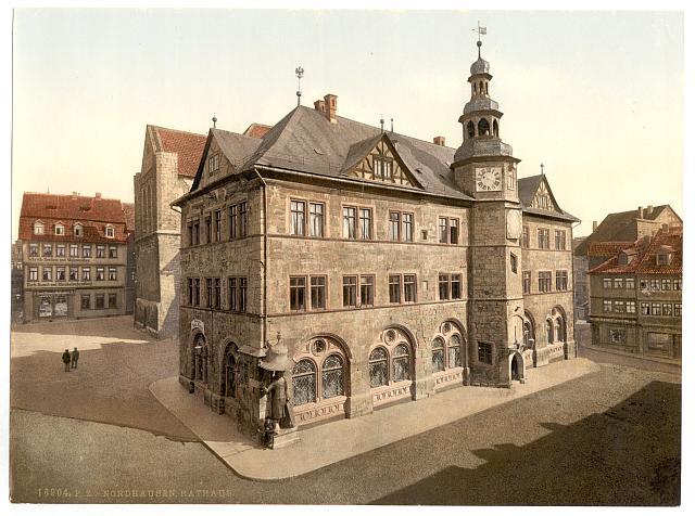 [Town hall, Nordhausen, Thuringia, Germany]