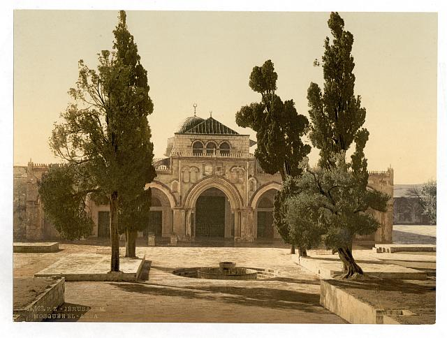 [The Mosque of El-Aksa, Jerusalem, Holy Land]