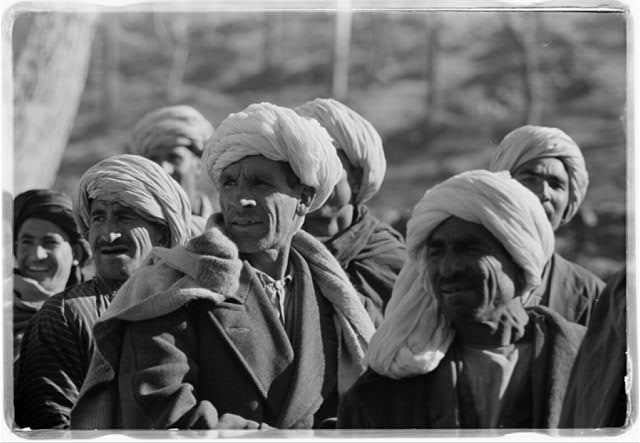 [A group of men in Kabul, Afghanistan, during President Eisenhower's visit]