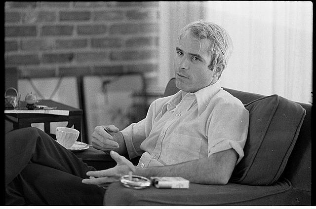 IVU w/ [i.e., interview with] Lt. Comdr. John S. McCain, Vietnam POW