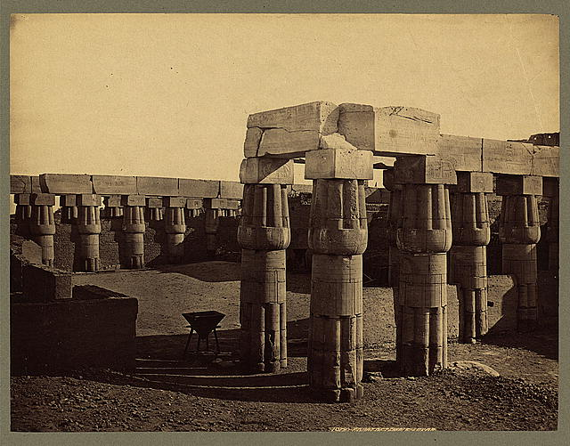 Court of Temple. Luxor