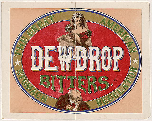 Dewdrop bitters - the great American stomach regulator