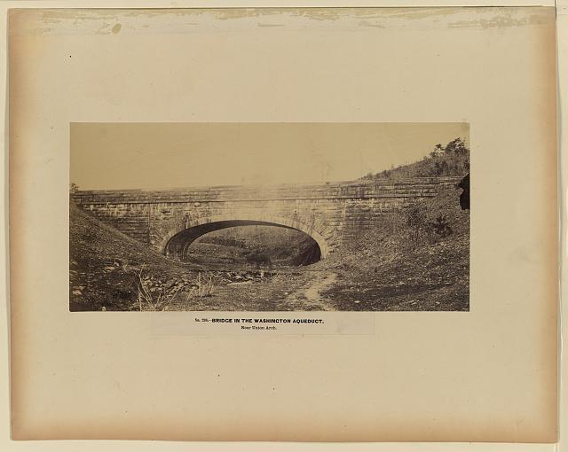 Bridge in the Washington Aqueduct, near Union Arch