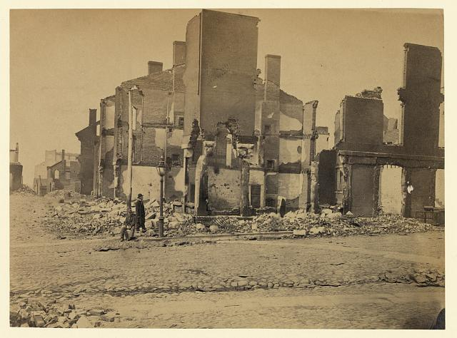 [Ruins in Richmond, Va.]