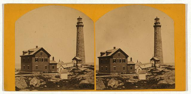 Thacher's Island lights--south tower