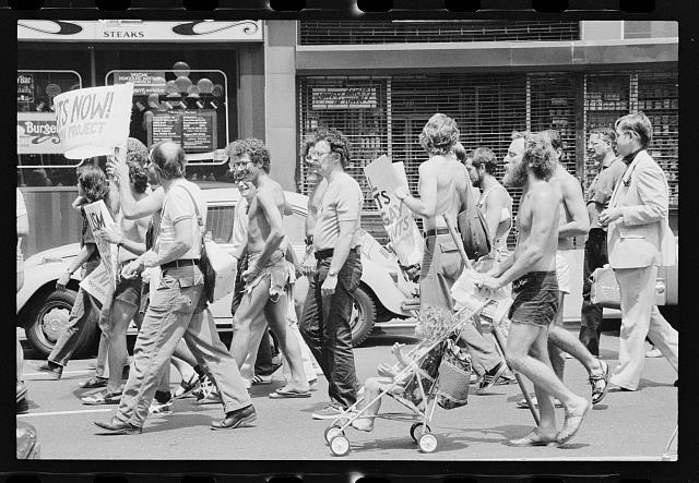 [Gay rights demonstration at the Democratic National Convention, New York City]