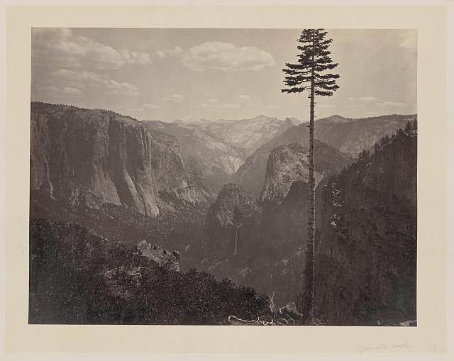 photo of yosemite valley, california