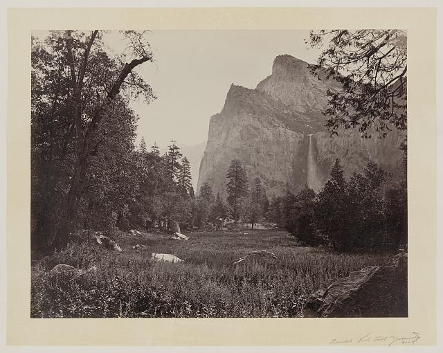[Bridal Veil Fall, Yosemite Valley, Calif.]