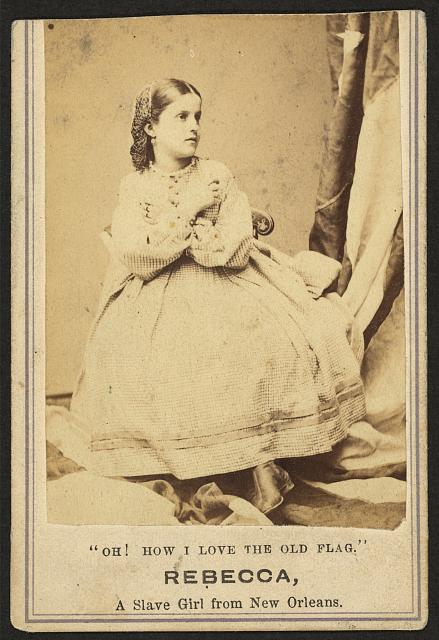 Rebecca, a slave girl from New Orleans
