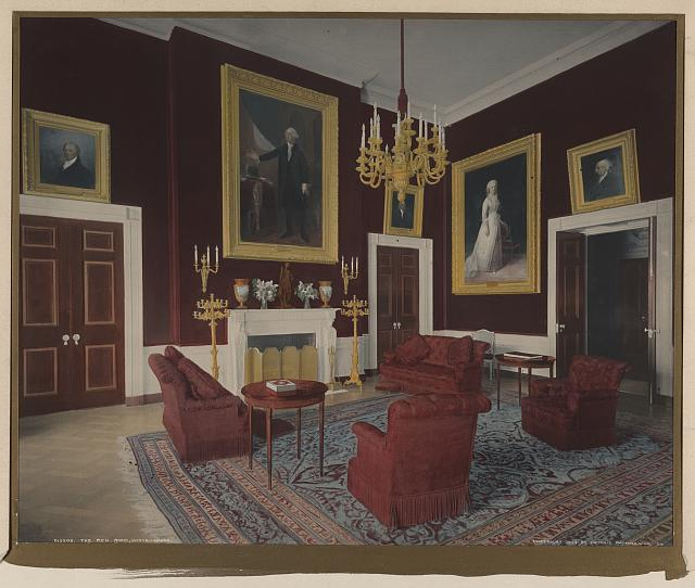 The Red Room, White House