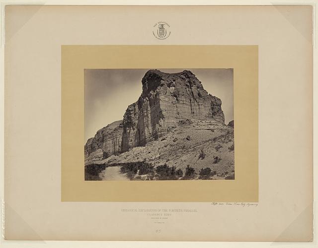 Cliffs near Green River City, Wyoming