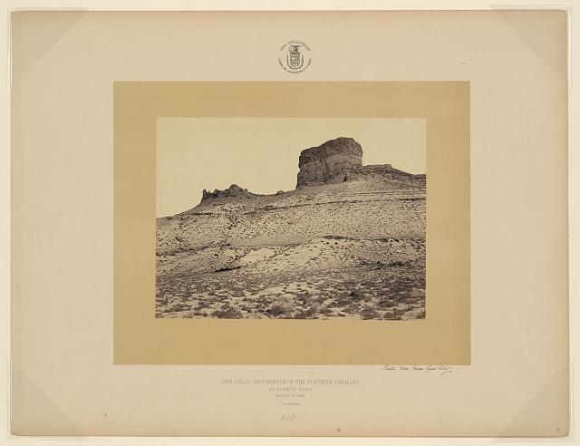 Buttes near Green River City [Wyo.]