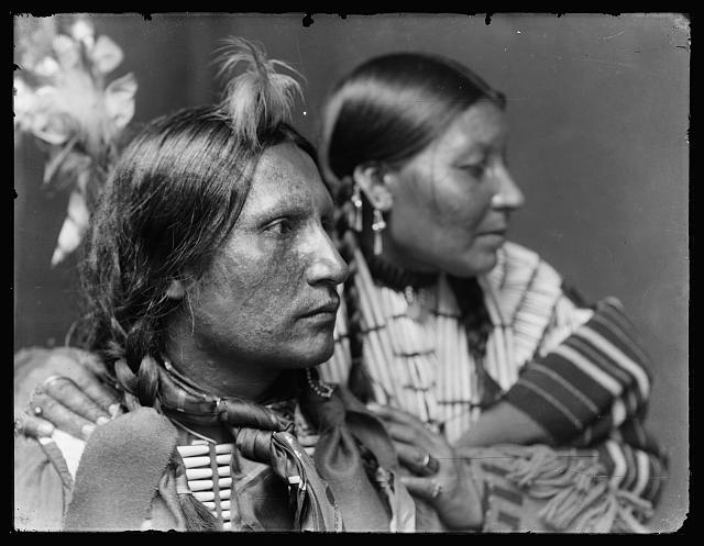 [American Horse and wife, American Indian]