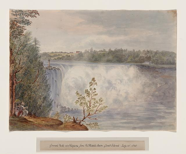 Biddle Stair, Goat Island, July 22, 1846