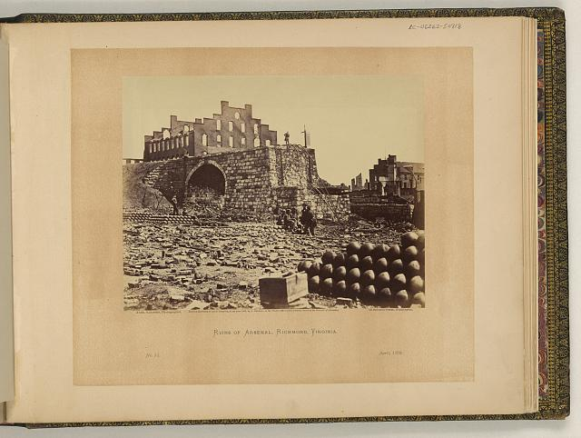 Ruins of arsenal, Richmond, Virginia
