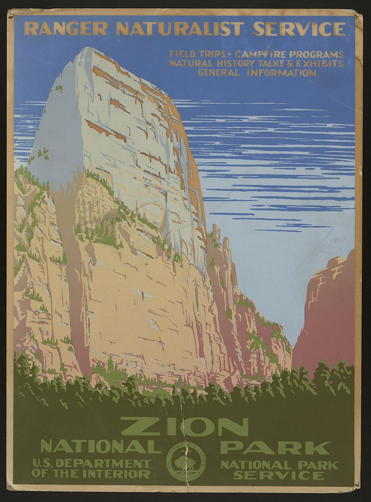 Posters Wpa Posters Available Online National Parks Reserves Library Of Congress