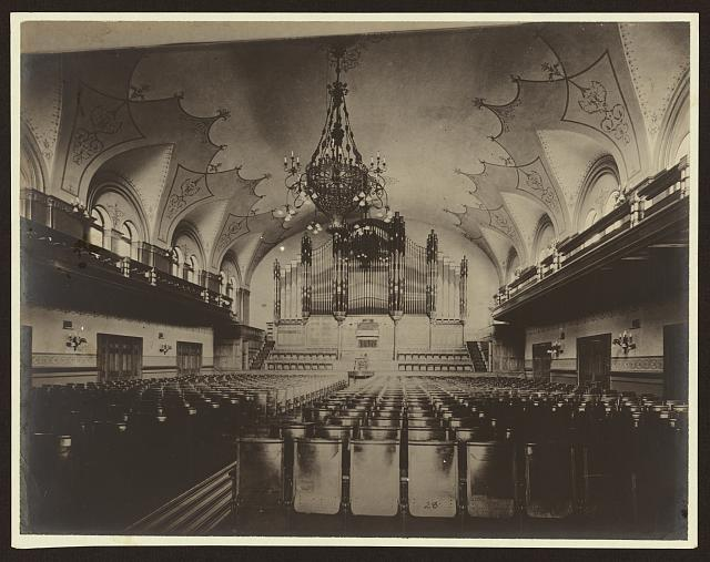 [Music hall, Carnegie Library and music hall, Allegheny City, Pennyslvania]