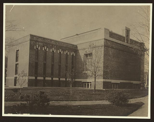 [Book wing, Case Memorial Library, now The Seymour Library, Auburn, N. Y.]