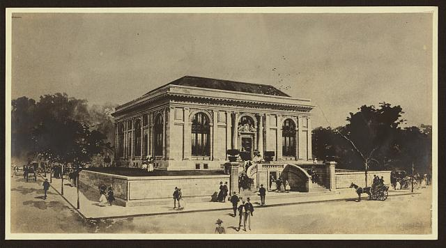 [Perspective rendering of Carnegie library, Nashville, Tennessee]