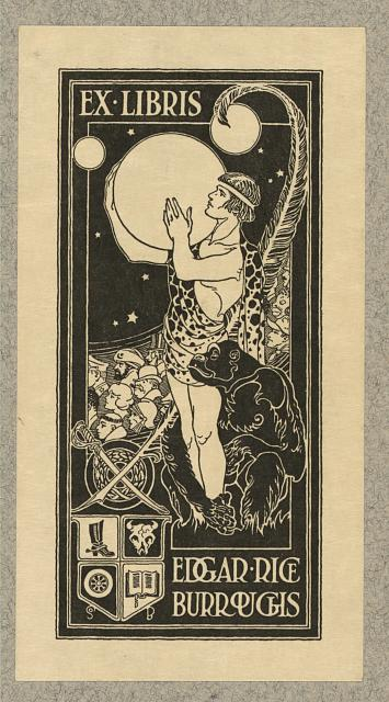[Bookplate of Edgar Rice Burroughs]