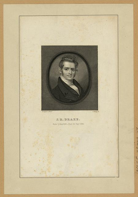J.R. Drake - born 7 Aug. 1795 -- died 20 Sept. 1820