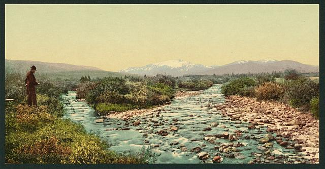 Fishing on Williams' Fork, Middle Park, Colorado