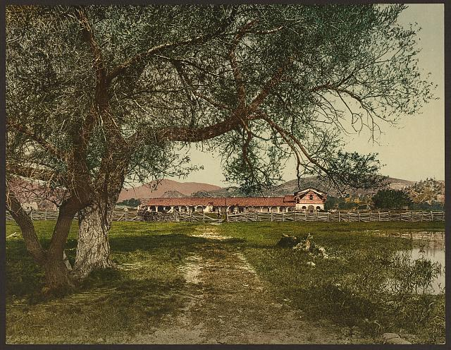 Mission San Antonio, general view