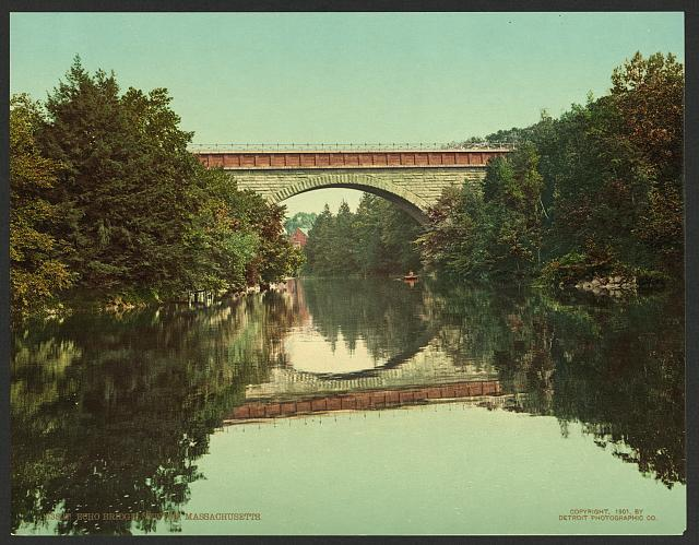 Echo Bridge, Newton, Massachusetts
