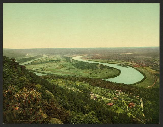 Moccasin Bend from Lookout Mountain