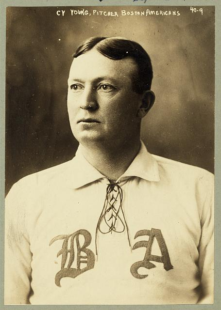 [Denton True] Cy Young, pitcher, Boston Americans