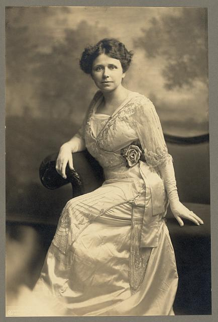 [Hattie Caraway, full-length studio portrait, sitting, facing front]
