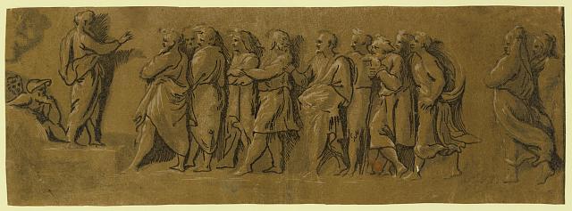 St. Peter preaching the gospel