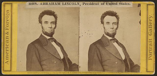 Hon. Abraham Lincoln, President of the United States