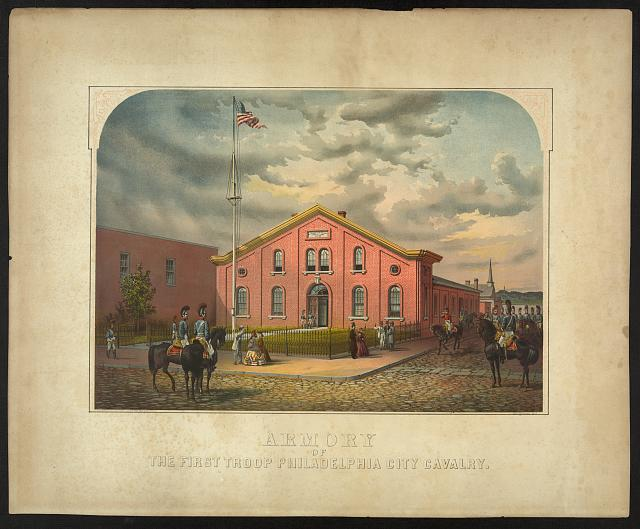 Armory of the First Troop Philadelphia City Cavalry