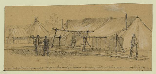 Adjutant Generals office head quarters, Army of the Potomac