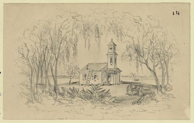 Negro Church, Smith's Plantation, Port Royal Isl'd, S.C.