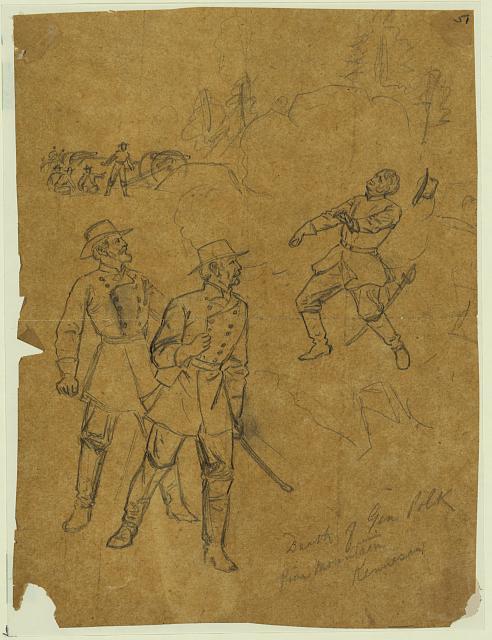Death of Gen. Polk Pine Mountain, Kennesaw