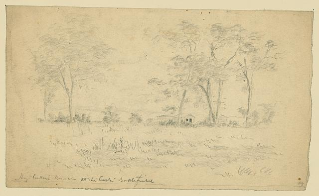 Maj Cutter's ranch at the Custer battlefield