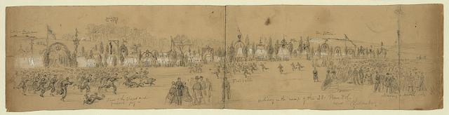 Holiday in the camp of the 23 Penn. Vol. near Bladensburg