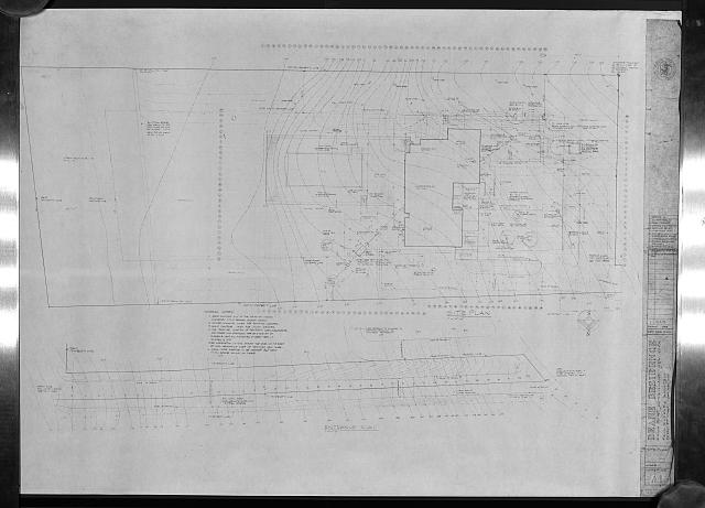 [Deane residence, Great Neck, New York. Site plan]