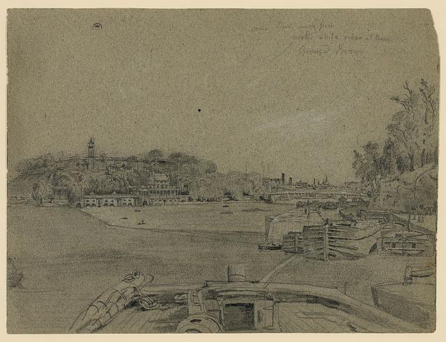 [Fairmount Waterworks on the Schuylkill River, Philadelphia, Pa.]