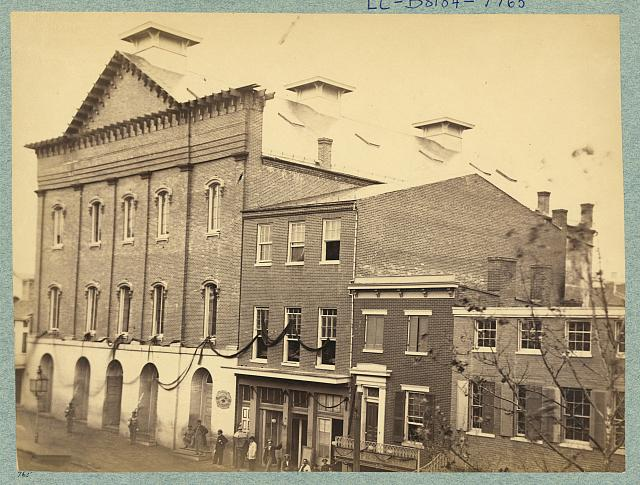 Ford's Theatre, scene of the assassination