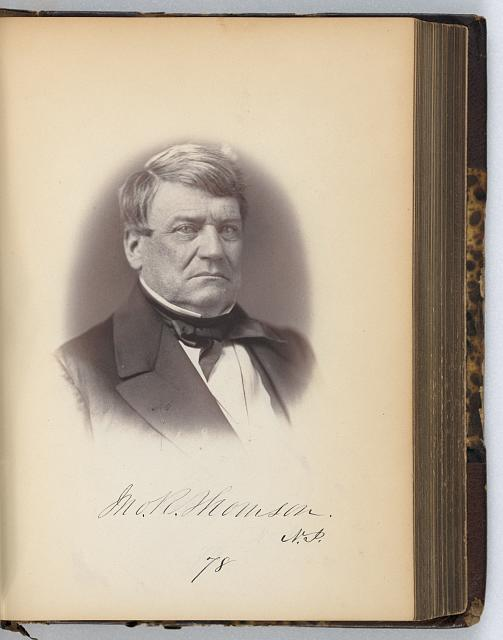 [John R. Thomson, Senator from New Jersey, Thirty-fifth Congress, half-length portrait]