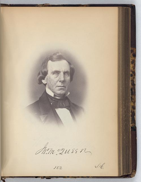 [John McQueen, Representative from South Carolina, Thirty-fifth Congress, half-length portrait]