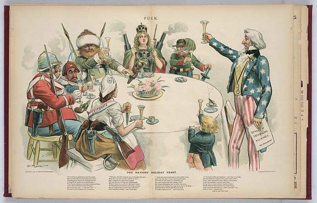 The nations' holiday feast