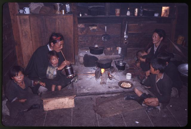 Rinchen's brother's family