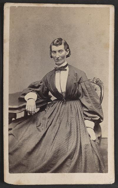 Miss F. L. Clayton, 4th Mis. Arty [i.e. Missouri Artillery], wounded in the battles of Shiloh and Stone River