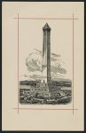Proposed design for the completion of the Washington Monument, Washington, D.C. [Bartle] (ca. 1877)